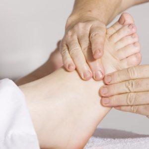 Séance de massage métamorphique
